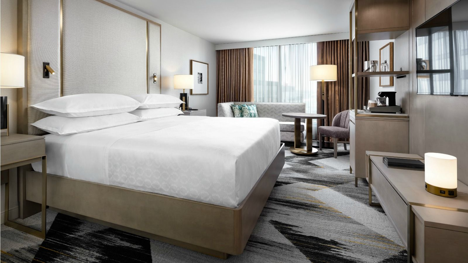 Renovated Guest Room | Sheraton Portland Airport Hotel