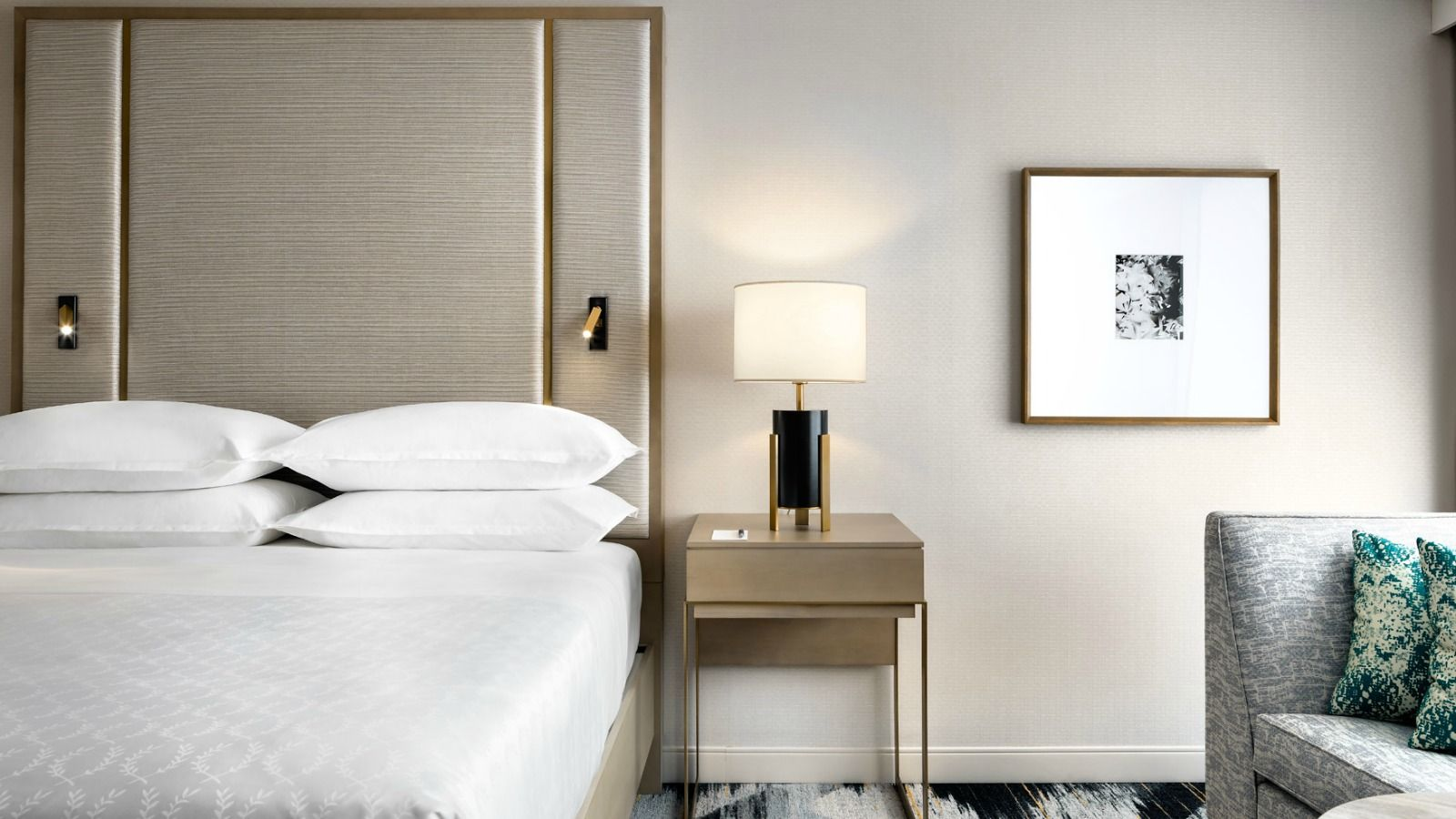 Modern Guest Room | Sheraton Portland Airport Hotel